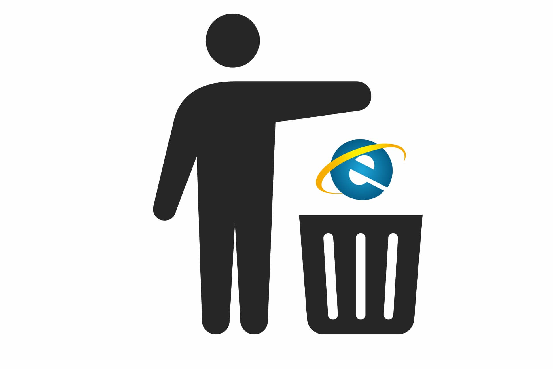 IE Trash