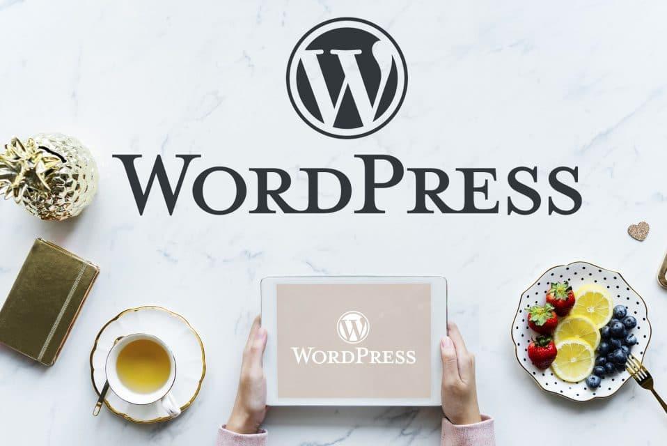 ワードプレスを使って会社のホームページを作る。