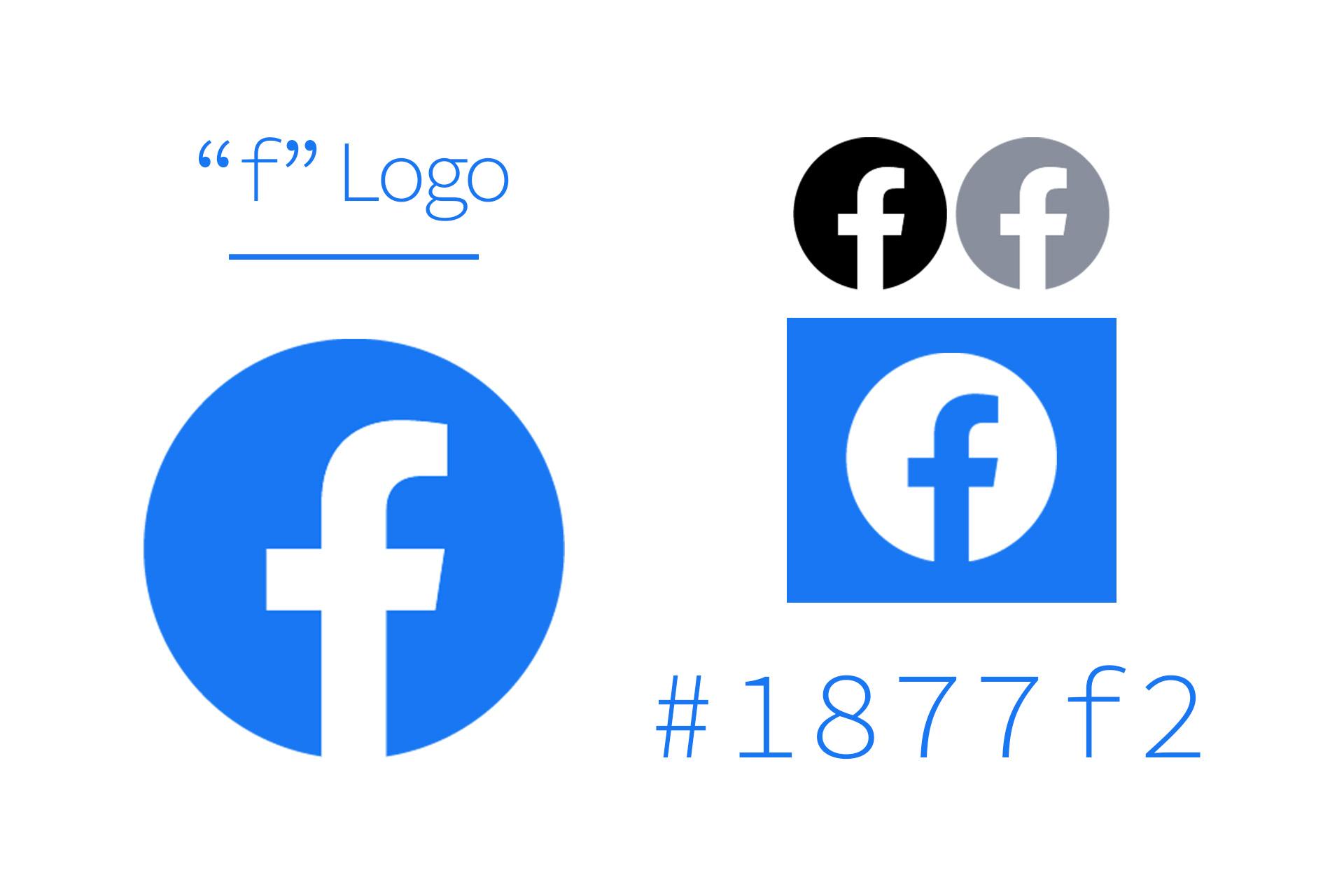 Facebookの新しい公式ロゴと色[2020年最新]